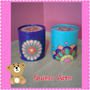 Caja Pintada Con Mandalas Decorativas !