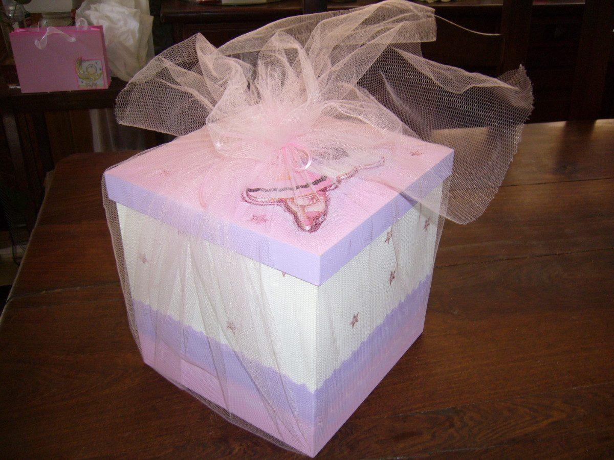 Fotos para hacer una caja de baby shower imagui - Cajas carton decoradas ...