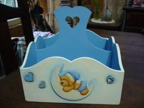 Cajas Decoradas Para Ajuar -baby Shower - Pañales !! - $ 70,00 en ...