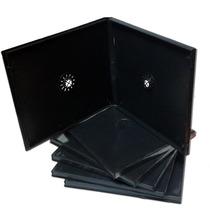 Cajas Cd Plasticas Dobles C/ Folio Calidad Premium X 100u