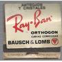 Caja De Fosforos Bausch & Lomb Con Fosforos
