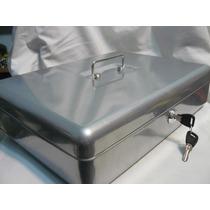 Cofre Portavalores Gabinete Metalico Numero 4,con Bandeja