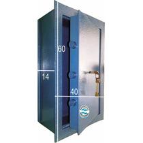 Caja Fuerte Tesoro Embutir Empotrar 40x60x14cm Ind Argentina