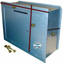 Caja Fuerte Tesoro Embutir Empotrar Con Buzón 30x40x14cm