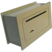 Caja Fuerte De Seguridad Para Amurar 30x20x15cm *con Buzon*
