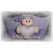 Muñecos Country-soft Ajuar Bebè Porta Cosmeticos