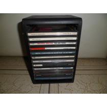 Torre Plastica Porta 12 Cd O Dvd Decoracion