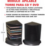 Modulo Porta Cd Dvd Regulable P Escritorio Biblioteca Estan