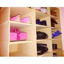 Caja Organizadora De Zapatos/ Pack Por 5 Unidades.