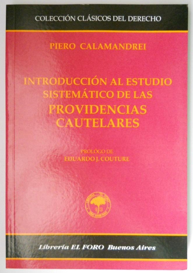 Calamandrei- Estudio Sistem�tico De Las Medidas Nuevo ... - $ 190 ...