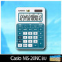 Calculadora Casio Ms-20nc Original.12 Digitos