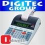 Calculadora Olivetti Logos 802 Rollo Papel Bicolor- Cordoba