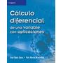 Calculo Diferencial D 1 Variable Con Aplicaciones Wisniewski