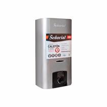 Calefon Señorial 14 Litros Gas Natural Y Envasado Acero Inox