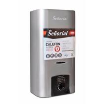 Calefon Señorial 14 Lts Plata Gas Natural Lhconfort