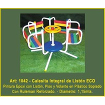 Juegos Jardin Plaza Calesita Integral De Liston Eco Mf1042