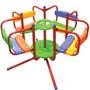 Calesita Infantil Juegosol Caño Reforzado Plastico Exterior