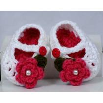 Escarpines A Crochet Para Bebes