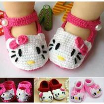 Escarpines Para Bebés A Crochet!