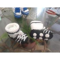 Escarpines Y Botines De Bebe Tejidos Al Crochet