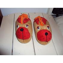 Vendo Pantuflas Con Forma De Perrito