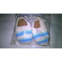 Alpargatas Para Bebes Crochet