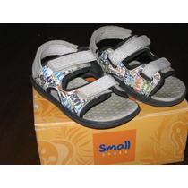 Sandalia Triple Abrojo Unisex Nª 22/23 - Oportunidad