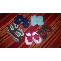 Zapatitos De Bebe Tejidos A Crochet, Desde Rn A 9 Meses