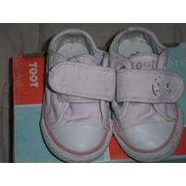 Zapatillas De Nena Toot Nro: 20 Color Rosa Impecables