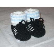 Los Primeros Botines Para Tu Bebe (escarpines Tejidos)