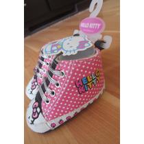 Botita No Caminante Hello Kitty Beba Original Sanrio 3-6 Mes