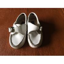 Zapatos Cuero Blanco Toot N22 Oportunidad Solo Dos Posturas!