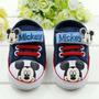 Zapatillas Zapatos Botitas Mickey No Caminantes