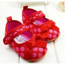 Guillerminas Zapatos Zapatitos Lunares Beba No Caminantes