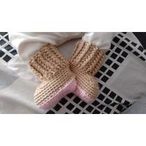 Botitas Bebe Crochet
