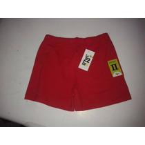 Liquidación! Lote 60 Shorts Rojos Mujer A $50c/u Alg Y Lycra