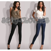 Calzas De Jean Jeggings Leggings Por Talles Unicas!!!