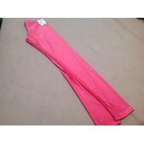 Calzas De Lycra Brillante Rosa Chicle! Talle Único