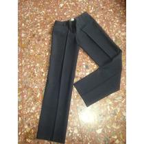 Pantalon De Vestir Kill Talle 38 Azul Marino