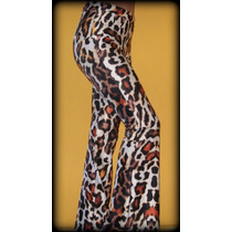 Calza Animal Print Oxford Lycra Premium/leopardo/ Leggins