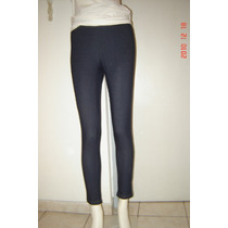 A.y.not Dead Calza Elev Azul Color Jean
