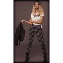 Calza-pantalon/ Leggins/combinadas/negra/blanca/diseño.