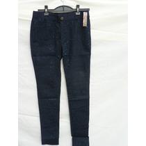 Calza Pantalon Elastizada Combinada Encaje Guipiur