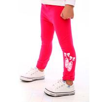Legging Ballet Algodon Con Lycra Con Stickers Pecosos