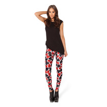 Legging Cartas Poker Black Milk Mujer Importado Calza