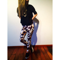 Calzas Leggings Chupin Estampados Originales Lycra By Krona
