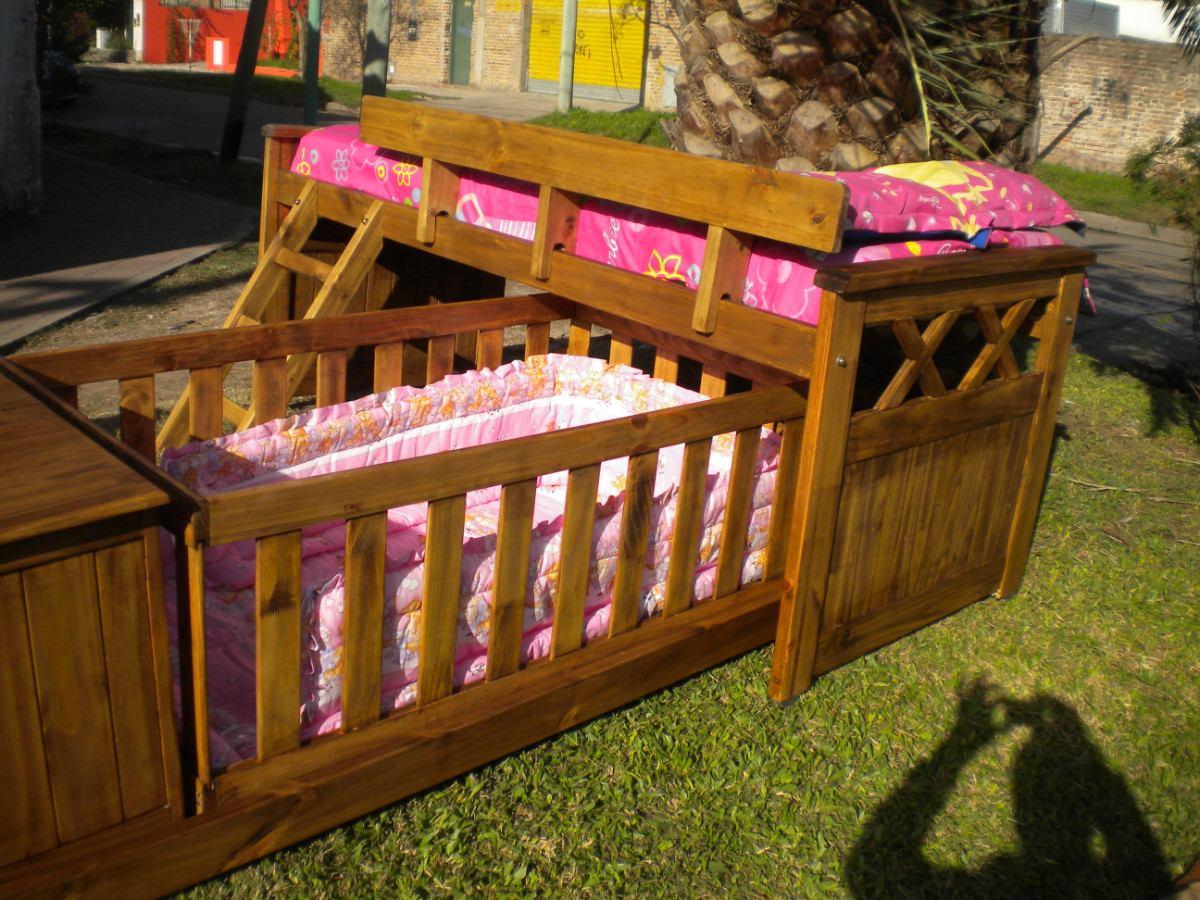 Modelos de camas cunas de beb s imagui for Camas puente infantiles