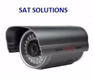 Camara De Seguridad Ccd Sony Infrarroja Noche Y Dia