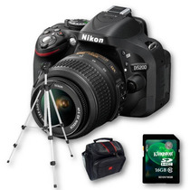 Nikon D5200 Kit 18-55mm+ Sd 16gb C10+ Bolso+ Trípode!!!!!!!!