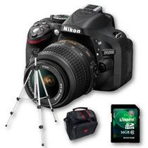 Nikon D5200 Kit 18-55+ 16gb C10+ Tríp+ Bolso+ Cuotas Sin Int